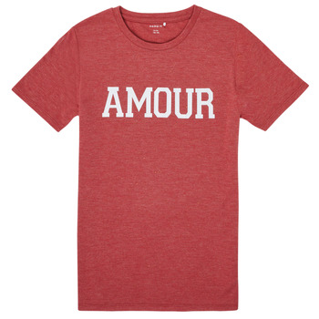 Vêtements Fille T-shirts manches courtes Name it NKFTHULIPPA Rouge