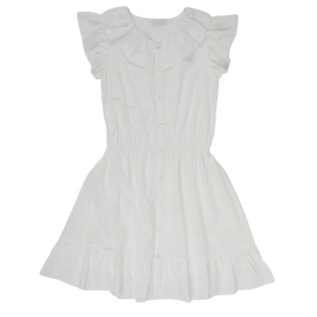 Vêtements Fille Robes courtes Name it NKFDORITA Blanc