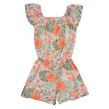 Vêtements Fille Combinaisons / Salopettes Name it NKFVINAYA PLAYSUIT Multicolore