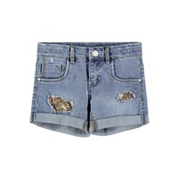 Vêtements Fille Shorts / Bermudas Name it NKFSALLI Bleu