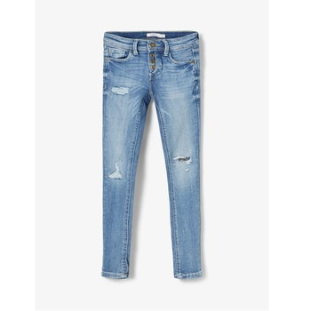 Vêtements Garçon Jeans slim Name it NKMPETE Bleu