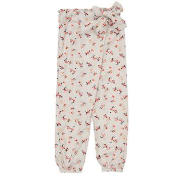Vêtements Fille Pantalons fluides / Sarouels Name it NMFDELFIN Blanc
