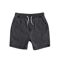Vêtements Garçon Shorts / Bermudas Quiksilver TAXER WS Noir