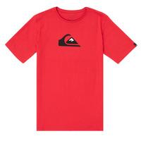 Vêtements Garçon T-shirts manches courtes Quiksilver COMP LOGO Rouge