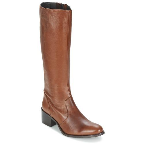 Chaussures Femme Bottes ville Betty London IROIN Camel