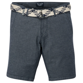 Vêtements Garçon Shorts / Bermudas Teddy Smith STATON CHINO Marine