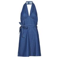 Vêtements Femme Robes courtes Molly Bracken EL902P21 Bleu