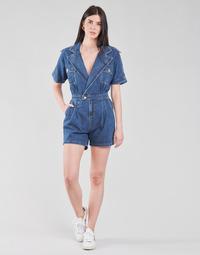 Vêtements Femme Combinaisons / Salopettes Molly Bracken EL1261P21 Bleu