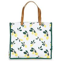 Sacs Femme Cabas / Sacs shopping Petite Mendigote CLEA LEMON Blanc