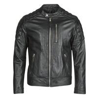 Vêtements Homme Vestes en cuir / synthétiques Schott LCMARTIN Noir