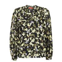 Vêtements Femme Tops / Blouses S.Oliver 14-1Q1-11-4082-99A1 Noir / Multicolore