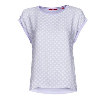 Vêtements Femme T-shirts manches courtes S.Oliver 14-1Q1-32-6972-48B2 Bleu