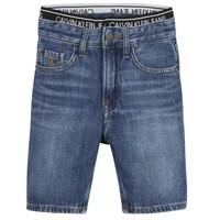 Vêtements Garçon Shorts / Bermudas Calvin Klein Jeans AUTHENTIC LIGHT WEIGHT Bleu