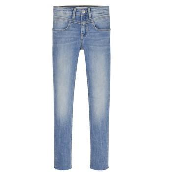 Vêtements Fille Jeans skinny Calvin Klein Jeans IG0IG00971-1AA Bleu