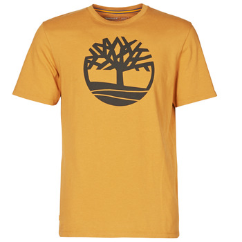 Vêtements Homme T-shirts manches courtes Timberland SS KENNEBEC RIVER BRAND TREE TEE Camel