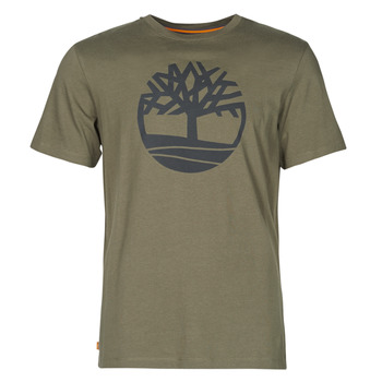 Vêtements Homme T-shirts manches courtes Timberland SS KENNEBEC RIVER BRAND TREE TEE Kaki