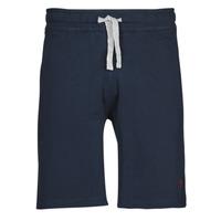 Vêtements Homme Shorts / Bermudas U.S Polo Assn. TRICOLOR SHORT FLEECE Bleu