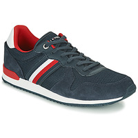 Chaussures Homme Baskets basses Tommy Hilfiger ICONIC MATERIAL MIX RUNNER Marine