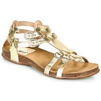 Chaussures Femme Sandales et Nu-pieds Kickers ANA Doré