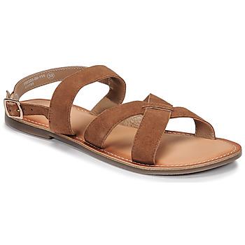 Chaussures Femme Sandales et Nu-pieds Kickers DIBA-2 Camel