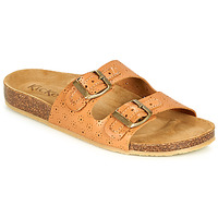 Chaussures Femme Mules Kickers ECOLOG Camel / Clair