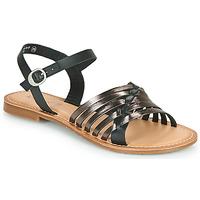 Chaussures Femme Sandales et Nu-pieds Kickers ETCETERA Noir / Argent