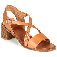 Chaussures Femme Sandales et Nu-pieds Kickers VOLUBILIS Camel