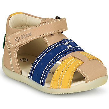 Chaussures Garçon Sandales et Nu-pieds Kickers BIGBAZAR-2 Marine