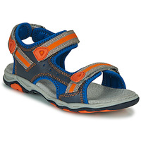 Chaussures Garçon Sandales et Nu-pieds Kickers KIWI Bleu / Orange