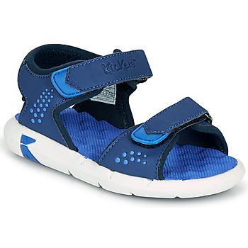 Chaussures Garçon Sandales et Nu-pieds Kickers JUMANGAP Bleu