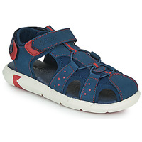 Chaussures Garçon Sandales et Nu-pieds Kickers JUMANGE Marine