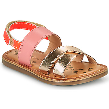 Chaussures Fille Sandales et Nu-pieds Kickers DYACROSS Rose