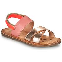 Chaussures Fille Sandales et Nu-pieds Kickers DYACROSS Rose