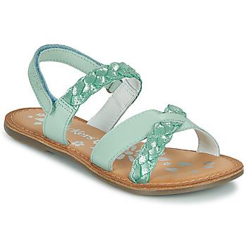 Chaussures Fille Sandales et Nu-pieds Kickers DIMDAMI Bleu