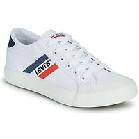 Chaussures Garçon Baskets basses Levi's MISSION Blanc