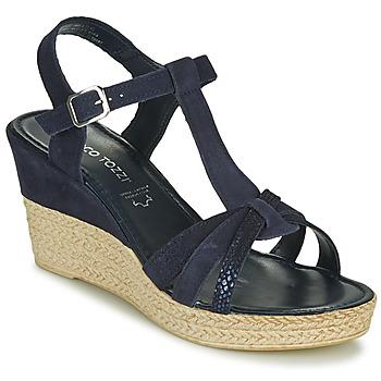 Chaussures Femme Sandales et Nu-pieds Marco Tozzi ANNA Marine