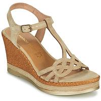 Chaussures Femme Sandales et Nu-pieds Marco Tozzi GRIMNI Gris