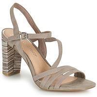 Chaussures Femme Sandales et Nu-pieds Marco Tozzi BALEINA Beige