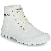 Chaussures Boots Palladium PAMPA HI ORGANIC II Blanc