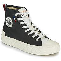 Chaussures Baskets montantes Palladium PALLA ACE CVS MID Noir / Blanc