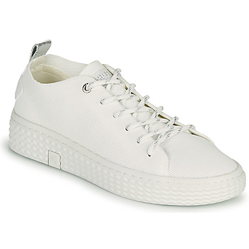 Chaussures Femme Baskets basses Palladium Manufacture TEMPO 06 KNIT Blanc