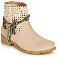 Chaussures Femme Boots Felmini BRENDA Beige