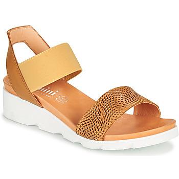 Chaussures Femme Sandales et Nu-pieds Felmini DARA Marron / Beige