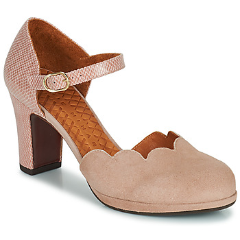 Chaussures Femme Escarpins Chie Mihara SELA Rose / Beige