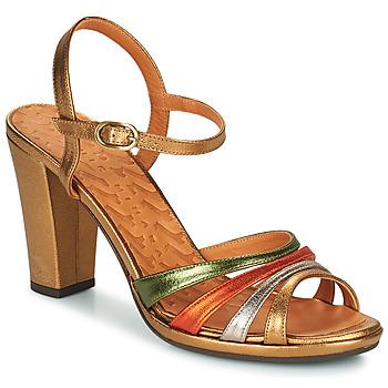 Chaussures Femme Sandales et Nu-pieds Chie Mihara ADIEL Vert / Bronze
