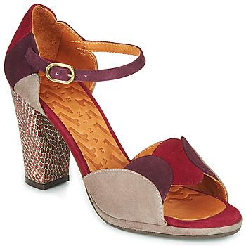 Chaussures Femme Sandales et Nu-pieds Chie Mihara ADAIR Bordeaux / Beige