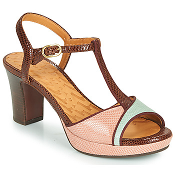 Chaussures Femme Sandales et Nu-pieds Chie Mihara NATI Marron / Rose / vert
