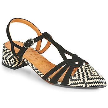 Chaussures Femme Escarpins Chie Mihara ROSALI Noir / Beige