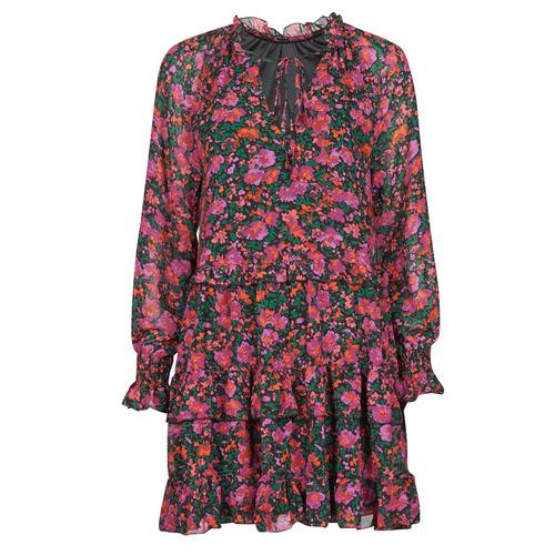 Vêtements Femme Robes courtes Moony Mood  Noir / Rose
