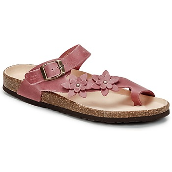 Chaussures Femme Tongs Dream in Green MINIK Fuchsia